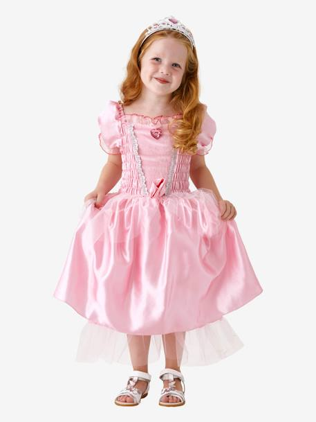 Princess Costume PINK MEDIUM SOLID WITH DESIG