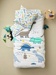 Furniture & Bedding-Child's Bedding-Children's Duvet Cover + Pillowcase Set, Dinomania Theme