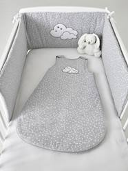Furniture & Bedding-Baby Bedding-Cot Bumpers-Padded Cot Bumper, Celestial Cloud Theme