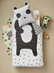 Children's Duvet Cover + Pillowcase Set, My Panda Friend Theme