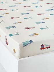 Furniture & Bedding-Children's Fitted Sheet, Fun Ride Theme