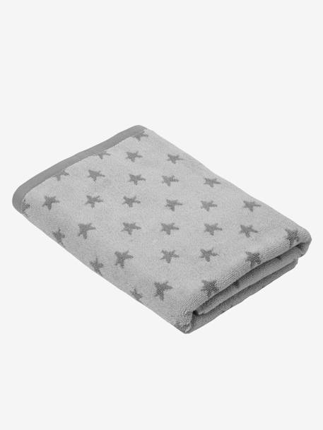 Bath Towel BLUE MEDIUM ALL OVER PRINTED+Green/cloud+Grey/stars+Pink/polka dot+Yellow/white striped
