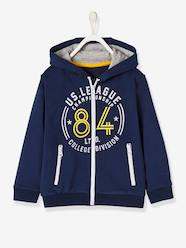 Boys' Jacket with Zip and Hood