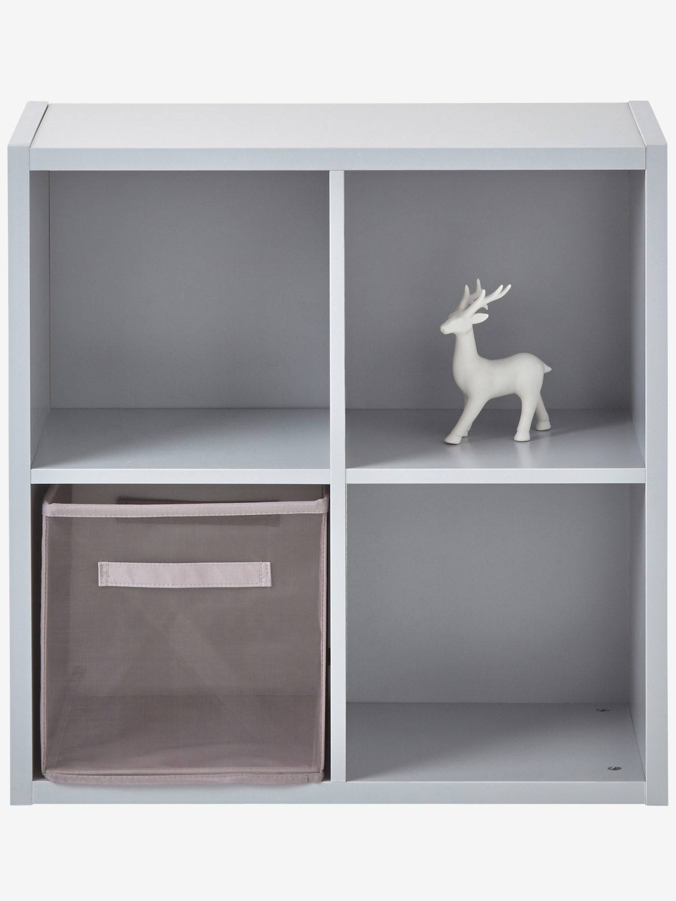 4 Box Storage Unit Grey+White