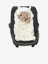 Nursery-Car Seats-VERTBAUDET Hooded Blanket