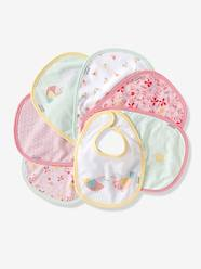 Nursery-Mealtime-Vertbaudet Pack of 7 Newborn Bibs