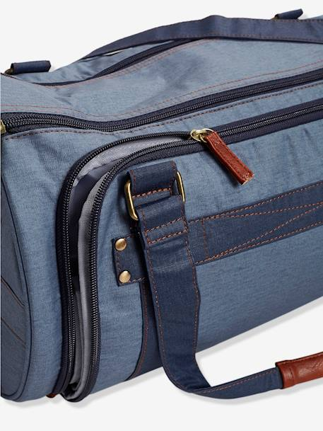 VERTBAUDET Daddysac Changing Bag BLUE DARK TWO COLOR/MULTICOL