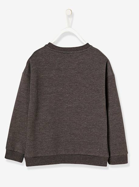 Girls' Printed Minnie® Sweatshirt GREY DARK MIXED COLOR