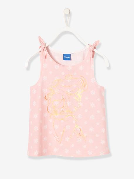 Girls' Frozen® Top PINK LIGHT ALL OVER PRINTED