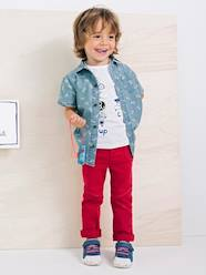 Boys' Top with Detachable Patches