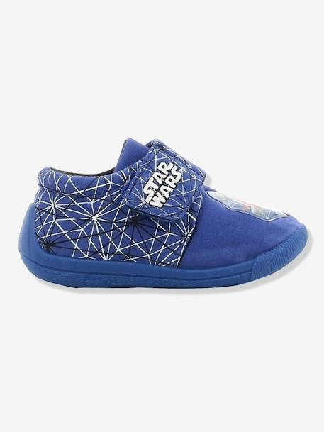 Boys' Star Wars® Shoes with Flashing LED Lights BLUE MEDIUM SOLID WITH DESIGN