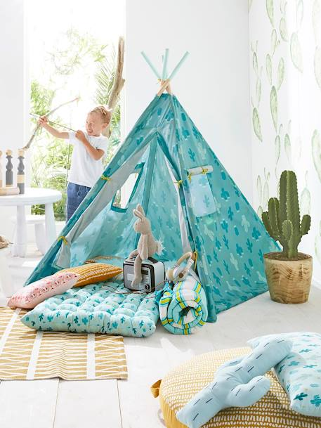 Outdoor Teepee, Dakota GREEN LIGHT ALL OVER PRINTED