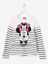 Girls' Striped Minnie® Top