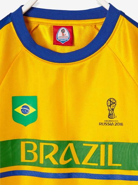 FIFA® 2018 Brazilian Football Team T-shirt GREEN BRIGHT SOLID WITH DESIG