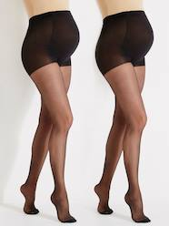 Pack of 2 Maternity Voile Tights