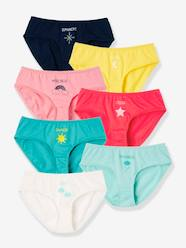 Girls-Underwear-Girls' Pack of 7 Briefs for Every Day of the Week