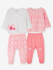 Baby-Pack of 2 Sets of 2-Piece Baby Pyjamas, in Cotton