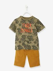Boys-Outfits-Boys' T-shirt + Bermuda Shorts Outfit