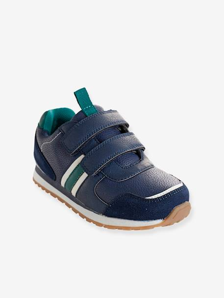 Boys' Touch 'N' Close Trainers BLUE DARK SOLID