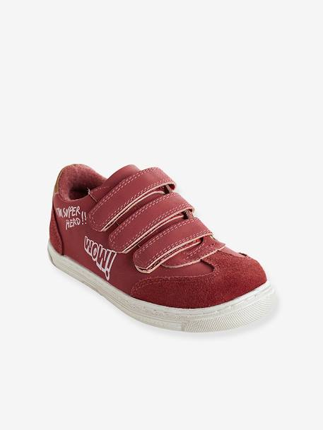 Unisex Touch 'N' Close Trainers BLUE MEDIUM SOLID+RED DARK SOLID
