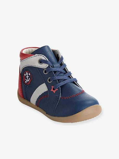 Boys Boots, Designed For First Steps Blue
