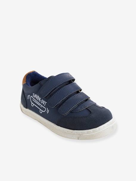 Unisex Touch 'N' Close Trainers BLUE MEDIUM SOLID+GREEN MEDIUM SOLID+WHITE LIGHT SOLID