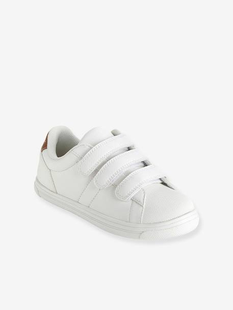 Trainers With Touch N Close Fastening White