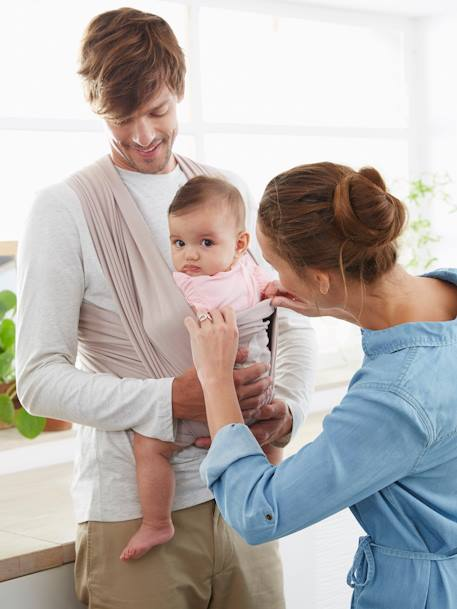 Vertbaudet Wrap Baby Carrier Nursery Vertbaudet