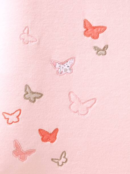 VERTBAUDET Changing Mat Cover Ash grey+GREY MEDIUM SOLID WITH DESIGN+Pink / butterflies+White lion