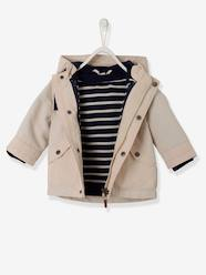 Baby-Outerwear-Coats-Baby Boys' 3-in-1 Parka & Detachable Jacket