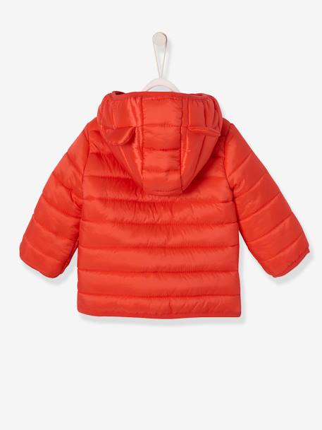 Babies' Lightweight Jacket with Stylish Hood BEIGE LIGHT SOLID+GREEN LIGHT SOLID+ORANGE BRIGHT SOLID
