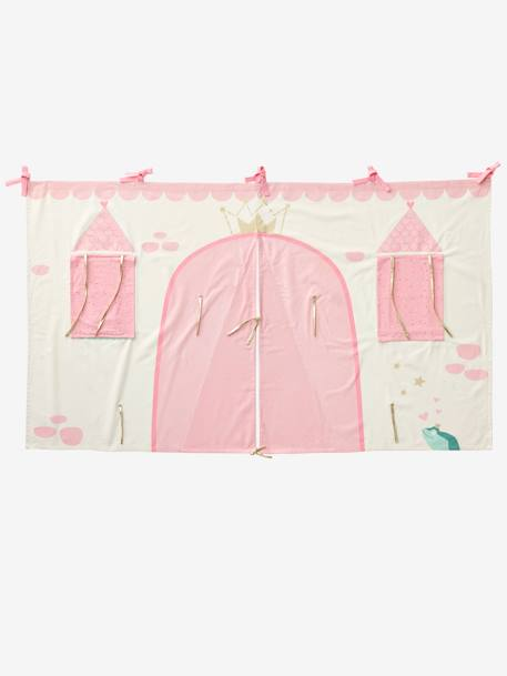 Fairy Princess Bed Tent PINK LIGHT SOLID WITH DESIGN