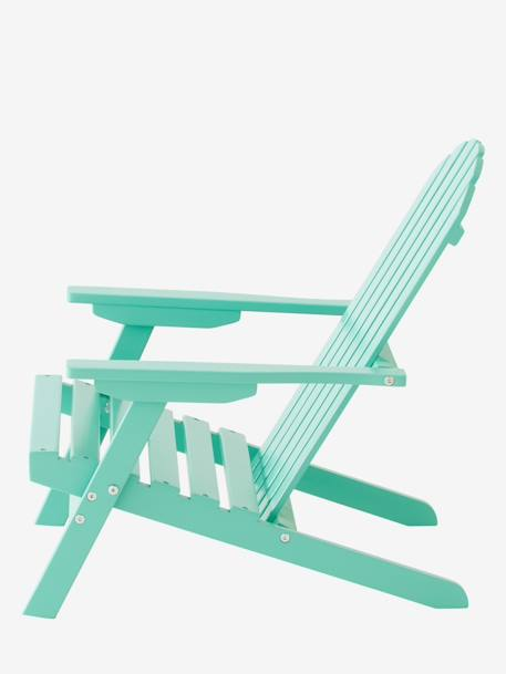 Outdoor Chair for Children, Garden GREEN MEDIUM SOLID+ORANGE MEDIUM SOLID
