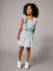 Girls' Dress with Frills