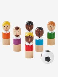 Wooden Football Champions Pins Game