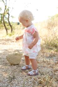 Baby-Outfits-Baby Girls' Blouse + Shorts + Headband Outfit