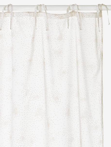 Sequined Curtain White / sequins
