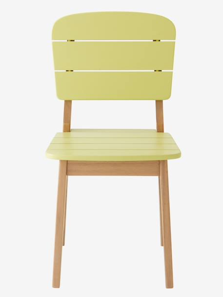 Children's Outdoor Chair GREEN LIGHT SOLID+ORANGE LIGHT SOLID+YELLOW LIGHT SOLID