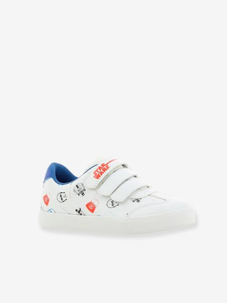 Boys' Star Wars® Trainers WHITE LIGHT ALL OVER PRINTED