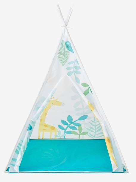 Zia Teepee WHITE LIGHT ALL OVER PRINTED