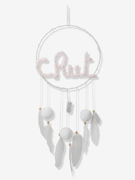 Light-Up Dream-catcher, Chut... WHITE LIGHT SOLID WITH DESIGN