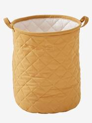 Storage & Decoration-Storage-Padded Basket, Size L, Mauve
