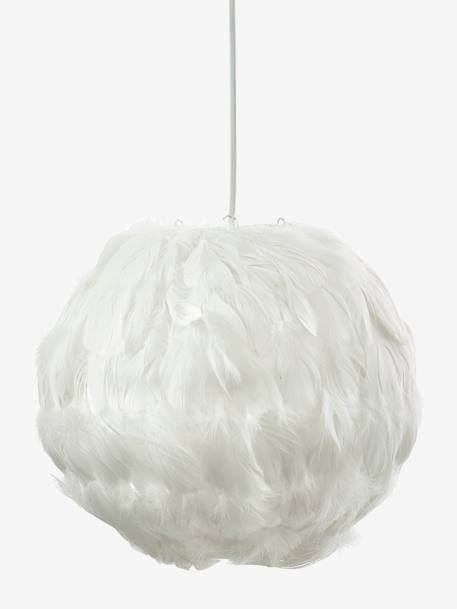 Plume Lampshade WHITE LIGHT SOLID