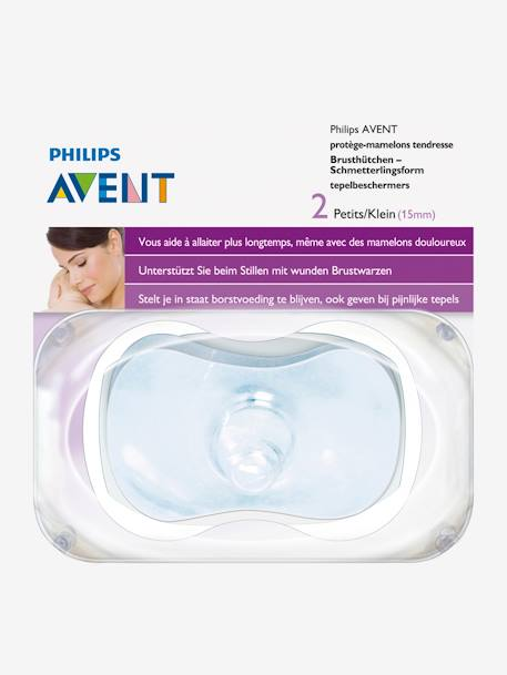Pack of 2 Philips AVENT Nipple Protectors NO COLOR