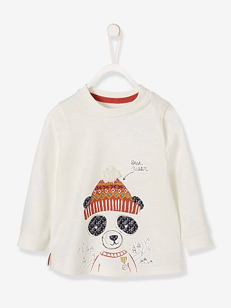 dfb54098b Baby Boys  Asia Print T-Shirt - white light solid with design