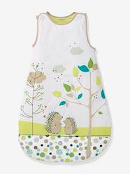 Furniture & Bedding-Baby Bedding-Sleepbags-Embroidered Sleeveless Baby Sleep Bag, Picnic Theme