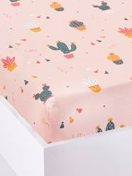 Furniture & Bedding-Child's Bedding-Fitted Sheets-Fitted Sheet for Children, CACTUS PARTY Theme