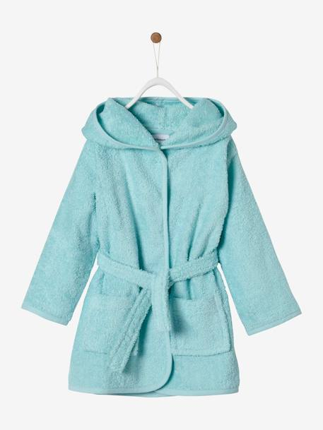 Plain Bathrobe for Babies BLUE MEDIUM SOLID+GREY LIGHT SOLID+PINK LIGHT SOLID+WHITE LIGHT SOLID