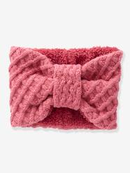 Girls-Accessories-Snood with Bow for Girls