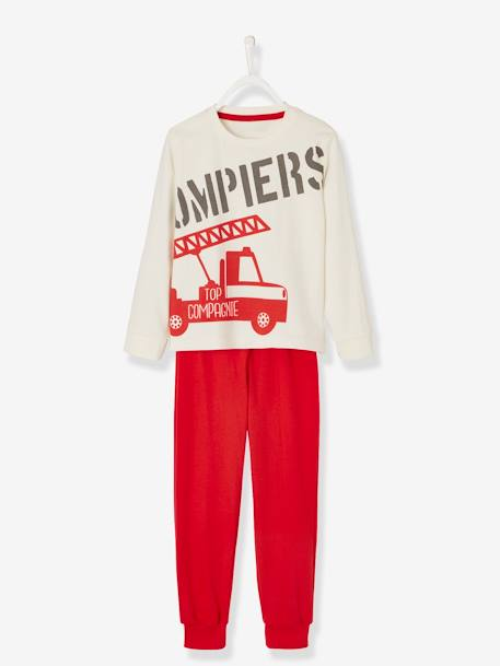 Pyjamas for Boys WHITE LIGHT SOLID WITH DESIGN